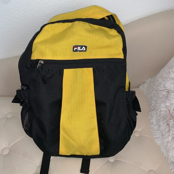 Fila Accessories - Fila Backpack Yellow